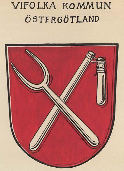 Ortshistoriakommunerna 1955 Vifolka Landskommun